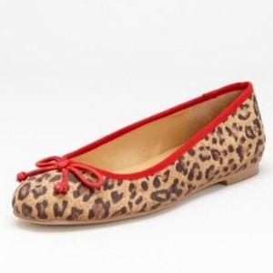 Kelsi Dagger Bettie Leopard Cheetah Ballet Flats
